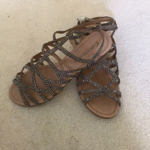 Coconuts by Matisse Shoes - Coconuts by Matisse tan embellished sandals-NEW!